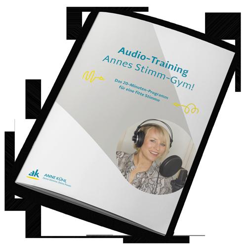 Audio-Training Annes Stimm-Gym!