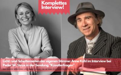 Die Stimme ins rechte Licht rücken: Interview mit Anne Kühl