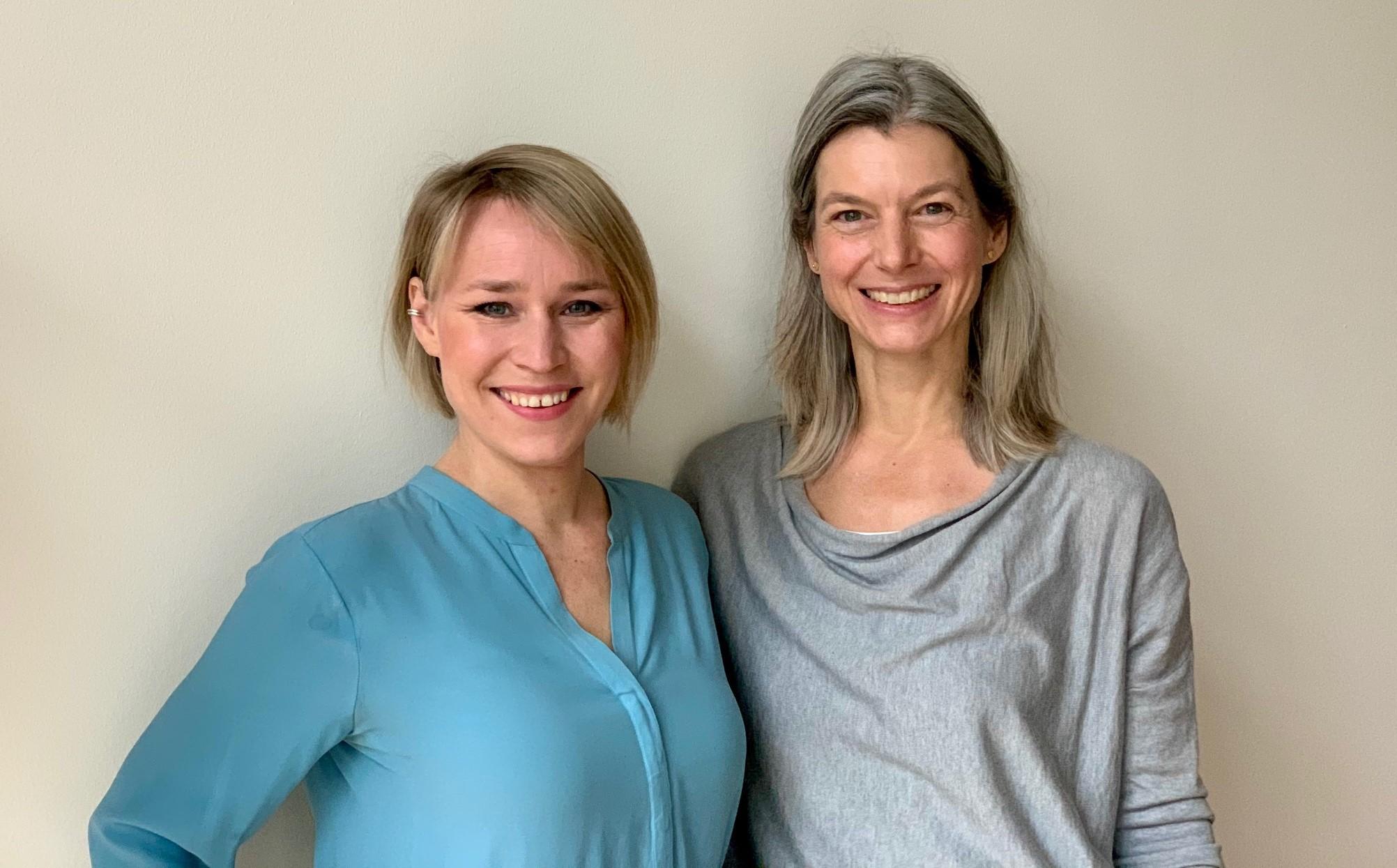 Anne Kühl mit Eva Gregor